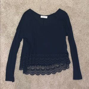 Abercrombie High-Low Stylish Top